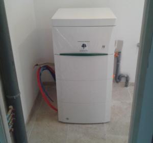 chauffage par aérothermie - pompe à chaleur